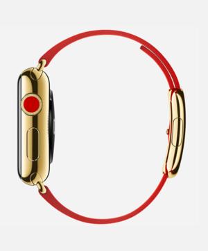 apple watch edition yellowgold modernbuckle