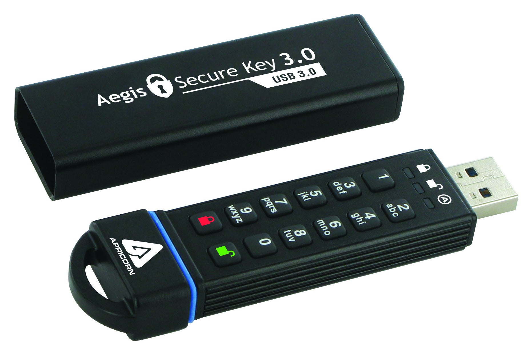 Portable Storage For The Paranoid We Test Two Secure Usb Drives On Flasdisk Kingston 4gb Keypad Vs Software Security Pcworld