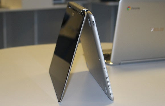 asus chromebook flip easel right side ports