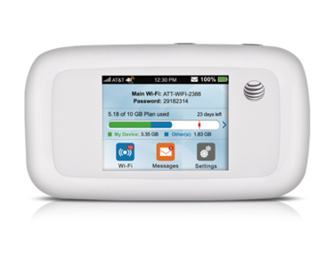 att velocity wifi hotspot
