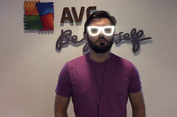 AVG Innovative Labs Invisibility Glasses
