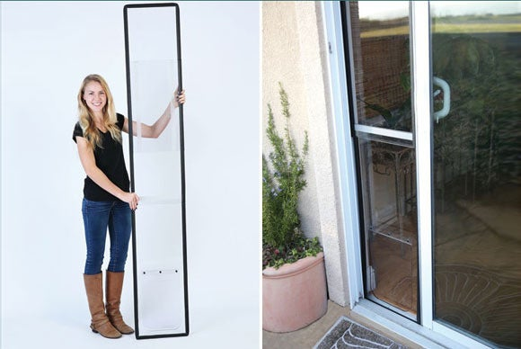 Need a portable pet door for your rented house? Check Kickstarter ...