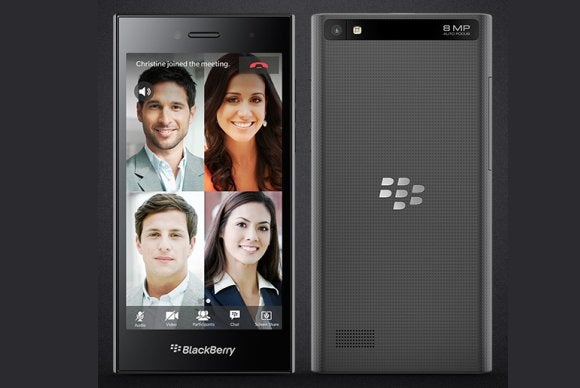 All-touch BlackBerry Leap launches with $275 price tag | PCWorld