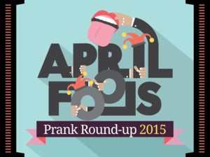 April Fools' Day prank round-up (2015)
