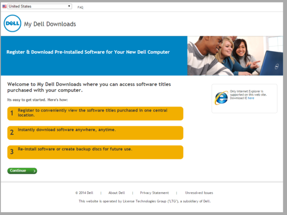 dell download center