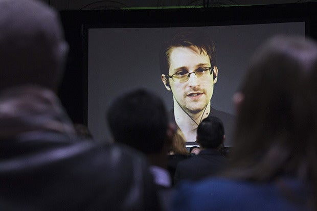 edward snowden video