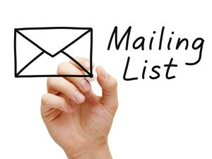 email list thinkstock