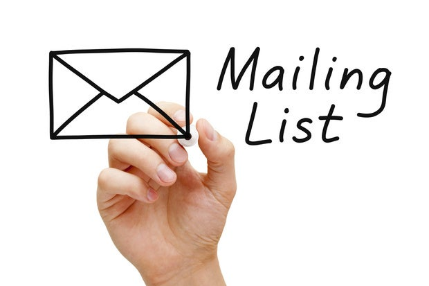 Image result for email list