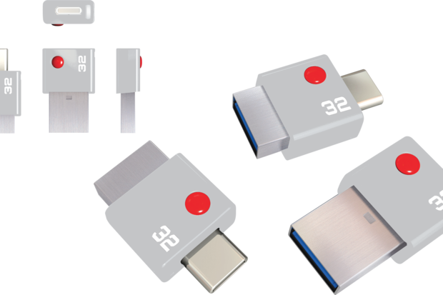 EMTEC Duo USB Type C thumb drive