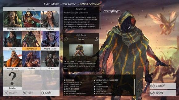 endless legend factions