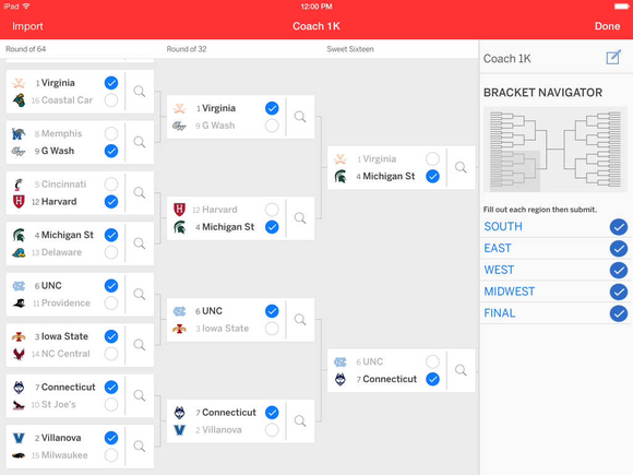 espn march madness