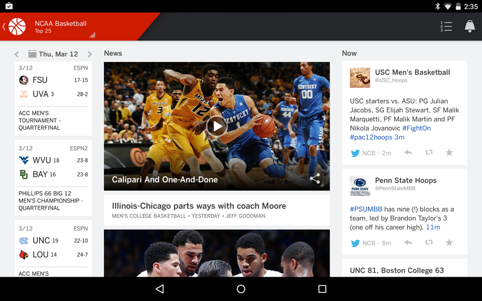 The best Android March Madness apps | Greenbot