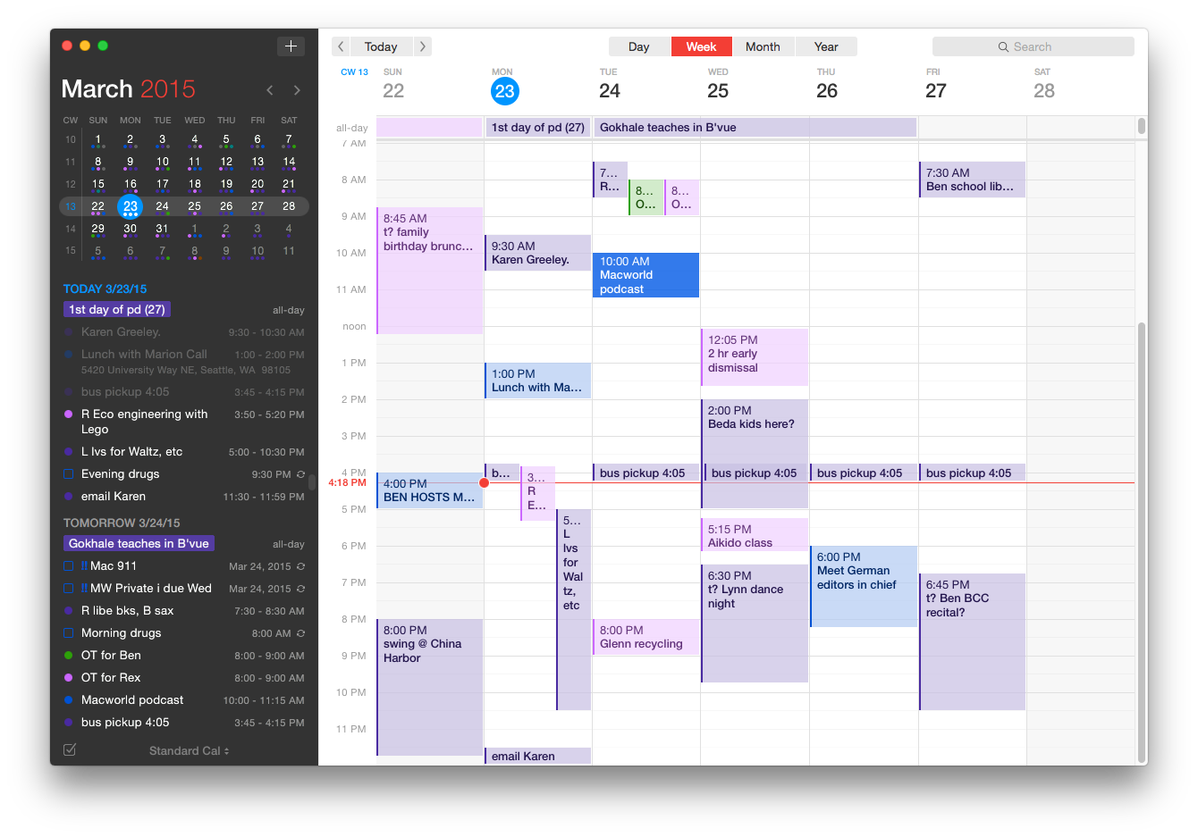 Review Fantastical 2 Ups The Ante For Events In Os X Macworld