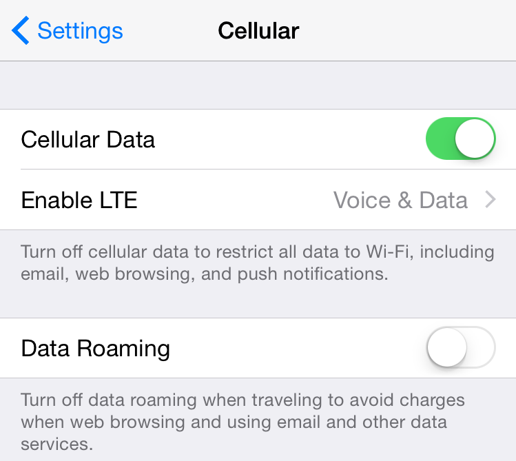 iphone cellular data not working how to manage cellular data usage on your iphone and 17631
