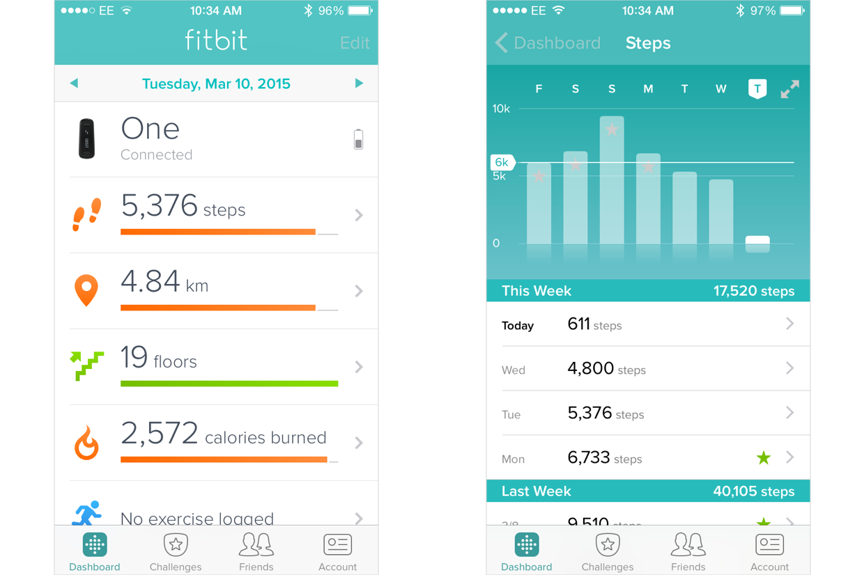 how to change my daily step goal on fitbit