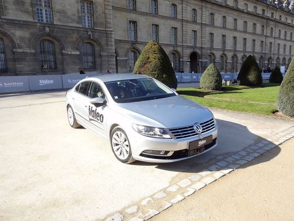 french self-driving car volkswagen cc