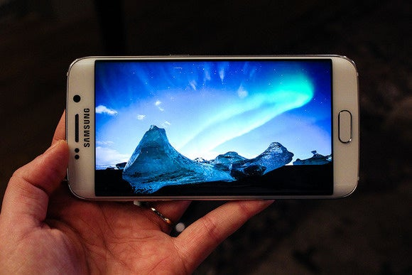 galaxy s6 display