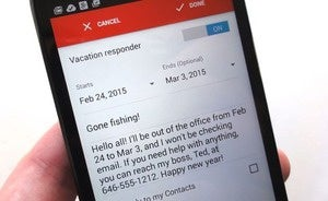 gmail app tricks vacation reminder 1