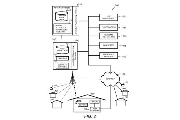 Google patent filing