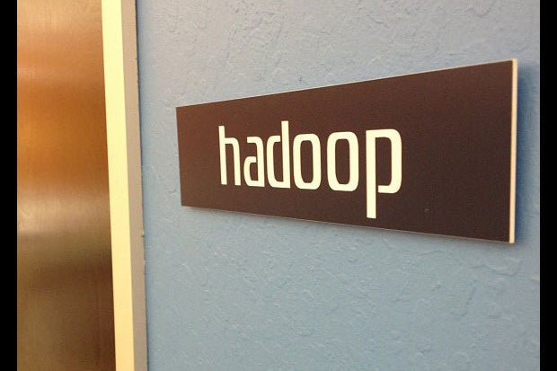 Hadoop sign door