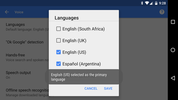 How to select multiple languages for Google voice search | Greenbot