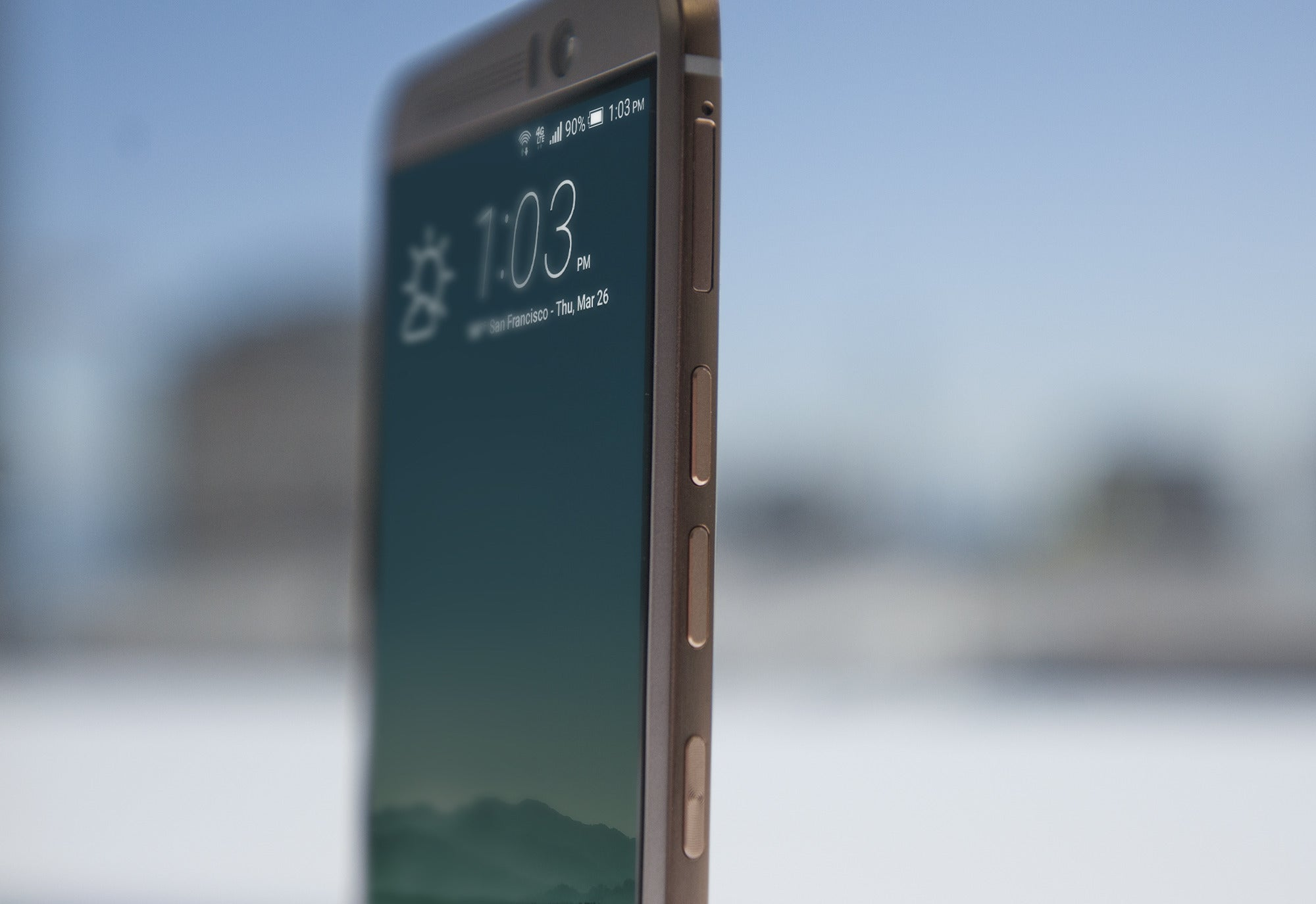 Htc One M9 Review A Disappointingly Good Phone Greenbot Side