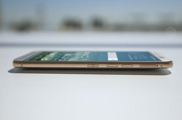 htc one m9 side flat up