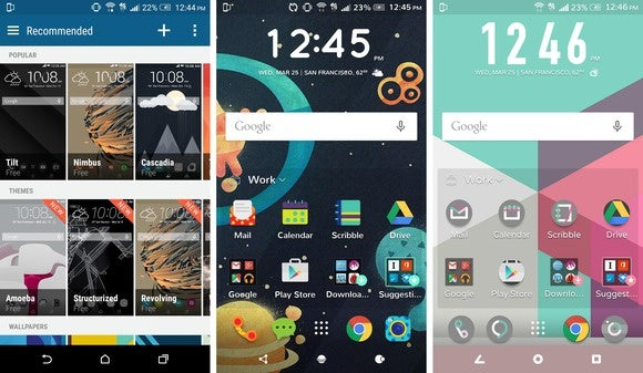 htc one m9 themes
