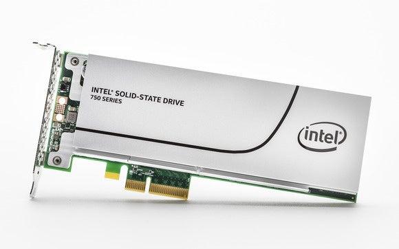 PCIe 4X exapnsion card Intel 750 SSD