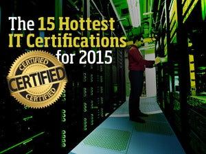 IT certification hot list 2015