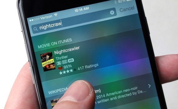 ios spotlight search movies 9