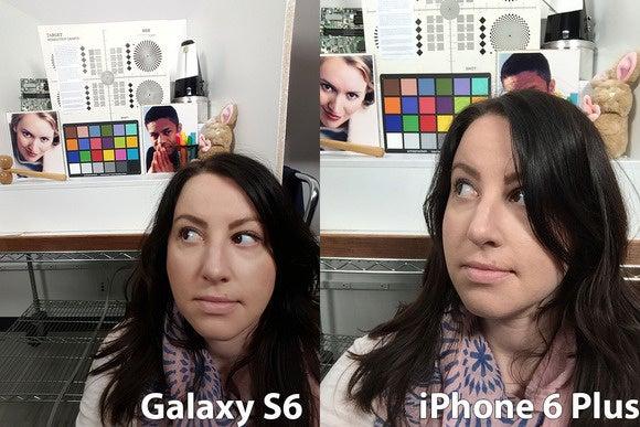 iphonevsgalaxy selfie