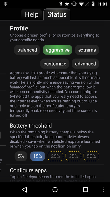 JuiceDefender Android app