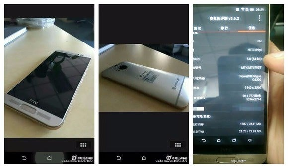 leaked htc one m9 plus