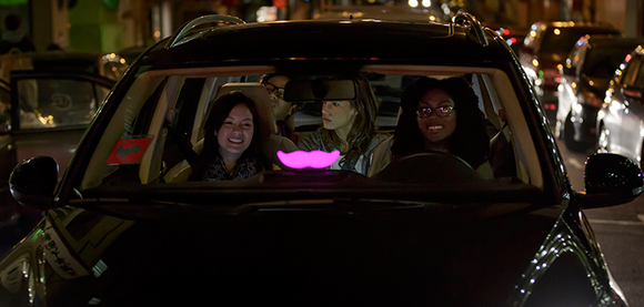 lyft glowstache