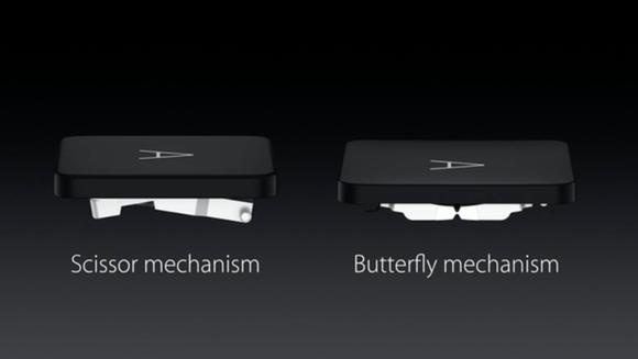 macbook butterfly mechanism keyboard