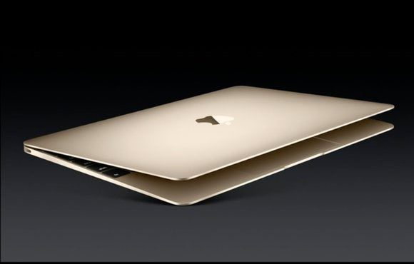 macbook gold open