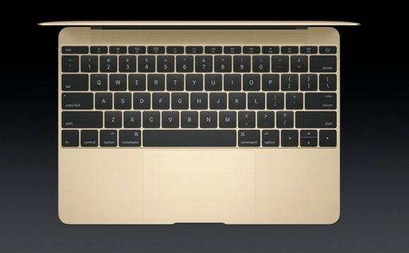 macbook keyboard gold