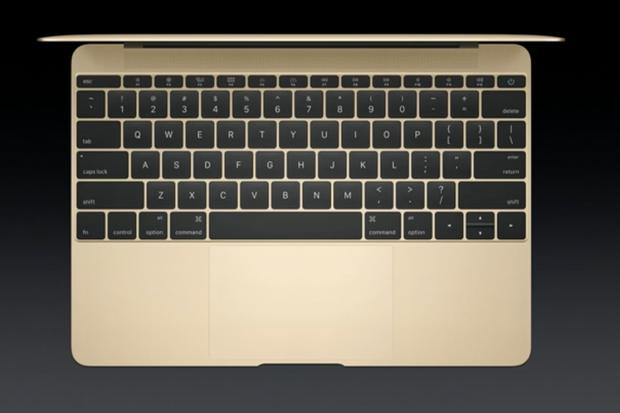 macbook keyboard gold