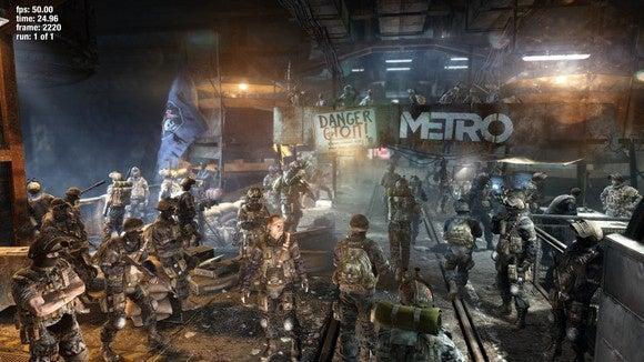 metro ll 4k benchmark