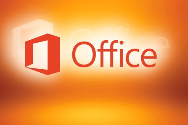Microsoft Office logo [orange background]