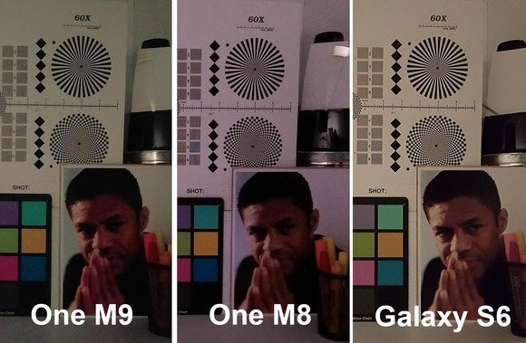 one m9 low light