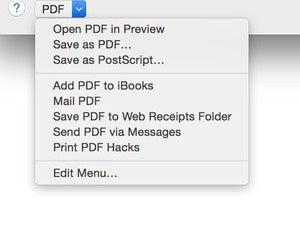os x pdf services 4