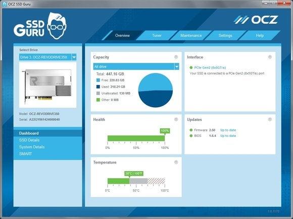 OCZ SSD Guru utility
