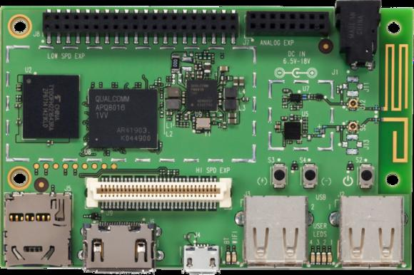 Qualcomm's Raspberry Pi-like computer has wireless