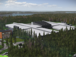 rendering of facebook data center
