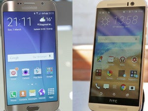 Samsung Galaxy S6 versus HTC One M9