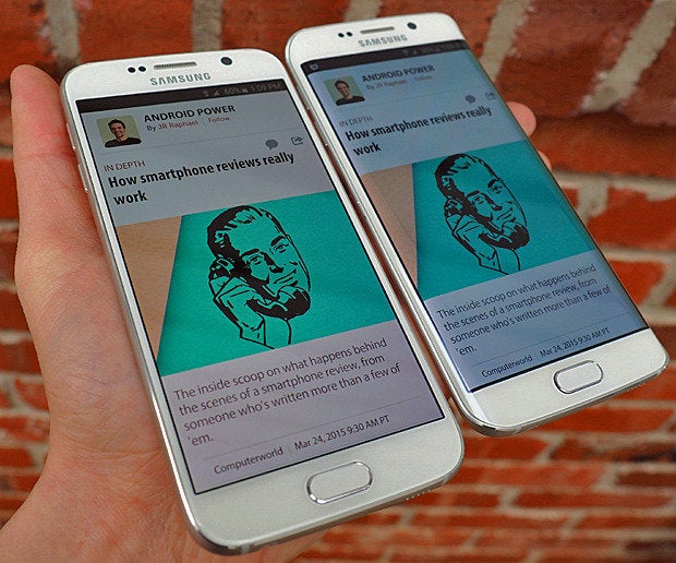 Samsung Galaxy S6, Galaxy S6 Edge Comparison