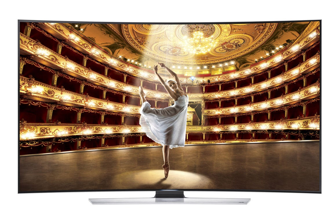 Curved Tvs Gobsmackingly Great Or Goldbrick Gimmick
