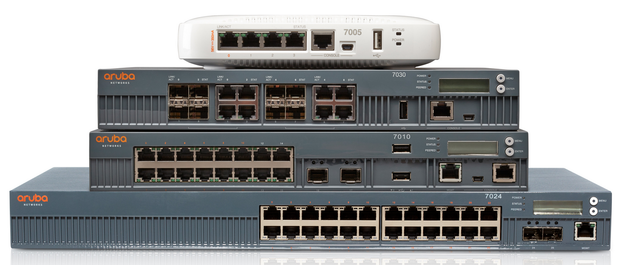 Aruba switches